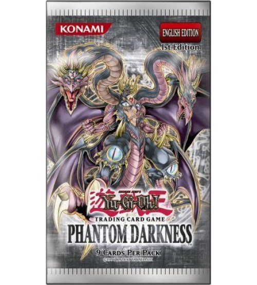 YuGiOh Phantom Darkness PTDN 1st Edition 9-Card Booster Pack